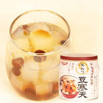 特売 伊豆産天草黒みつ豆寒天 230g×1缶