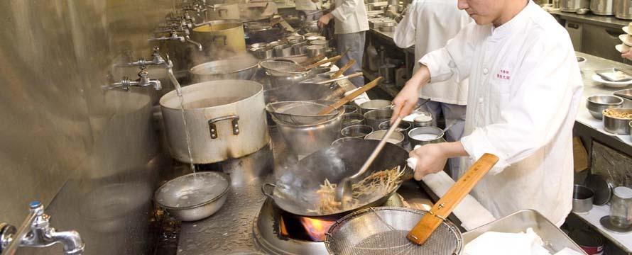 中華街屈指の料理人