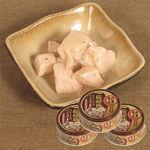 特価 青森の正直 桜姫鶏 スタミナ源たれ塩味 100g×3缶