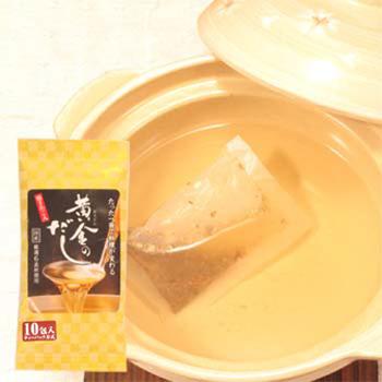黄金のだし(昆布・鰹・鯖・椎茸) 10バッグ×1袋