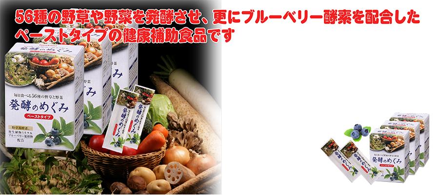 特価 発酵のめぐみ(箱入) 3箱 8g×90包