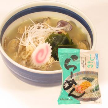 特売 しおらーめん(乾麺・スープ付) 99g×1袋