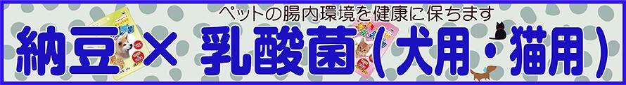納豆×乳酸菌(犬用・猫用)