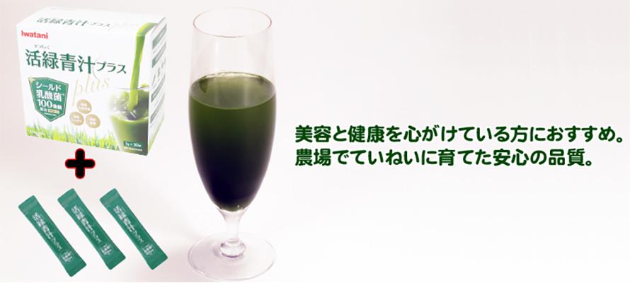 活緑青汁プラス(30包)+3包プレゼント付