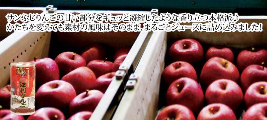 特価 りんごジュース ふじ缶 195ml×1本