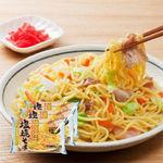 ちゃんぽん麺で作る塩焼きそば(生麺・ソース付) 2食入×3袋