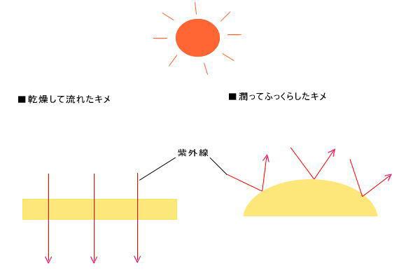 UV-AとUV-B紫外線の違い知っていますか?