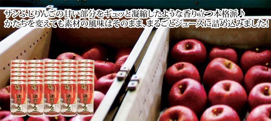 特価 りんごジュース ふじ缶(箱入) 195ml×30本
