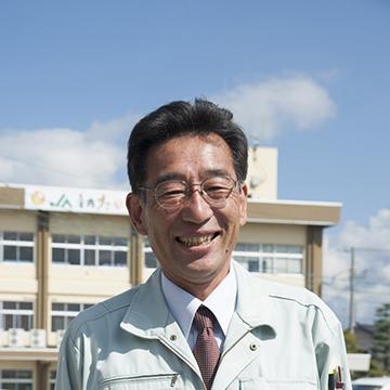 JA庄内たがわの営農販売部、米穀課長の岸田洋一さん