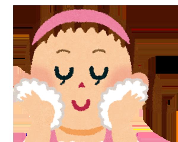 冬の洗顔で大切なポイント